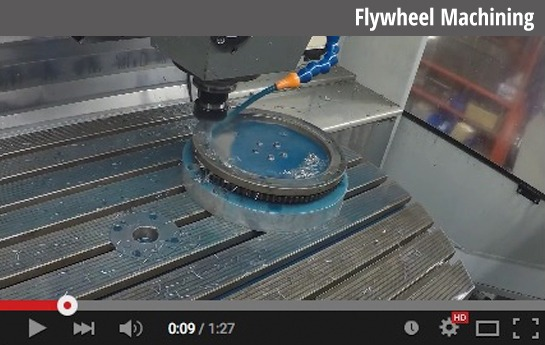 Custom Flywheel Machining BMW Motorcycle