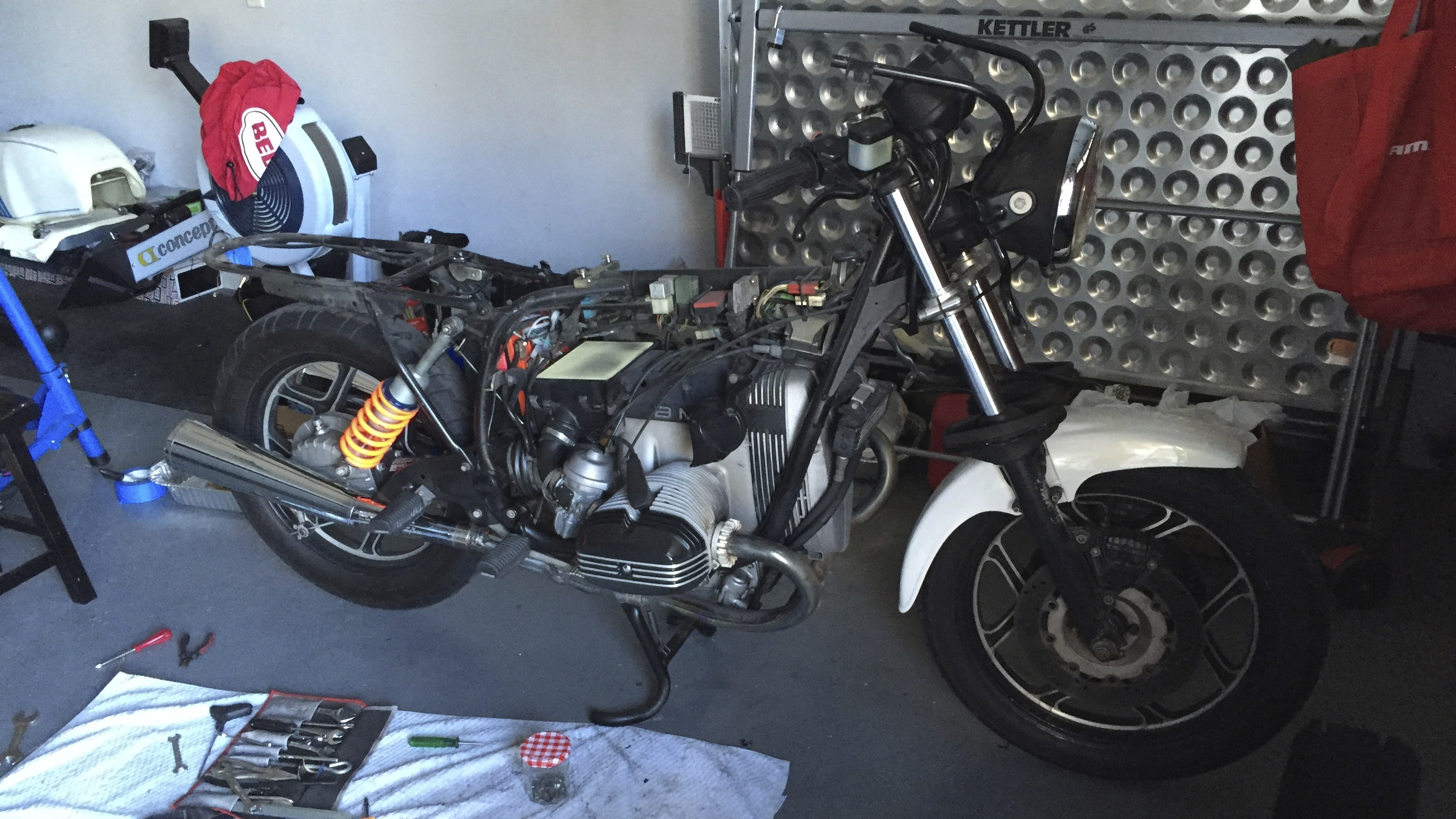 BMW R100 RS Cafe Racer by Troydon at Oshmo