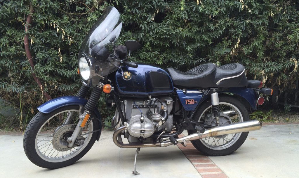 1975 BMW R75/6 Before
