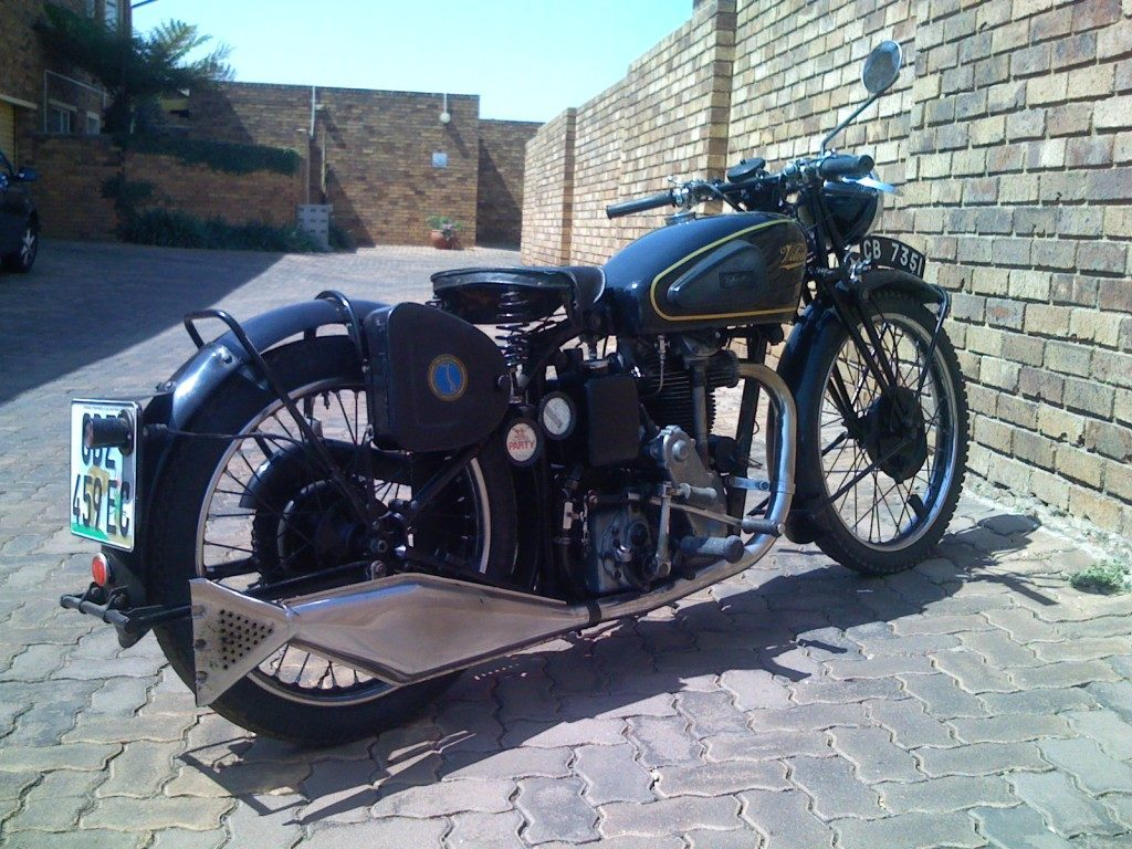 William Bilson's immaculate 1936 KS 350 Velocette