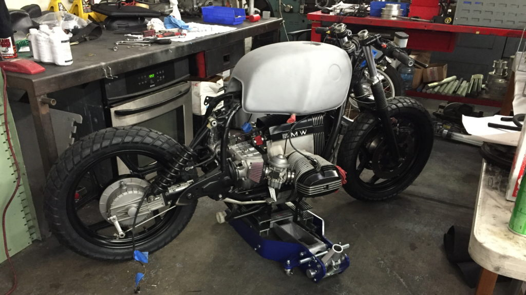 BMW R100RS currently