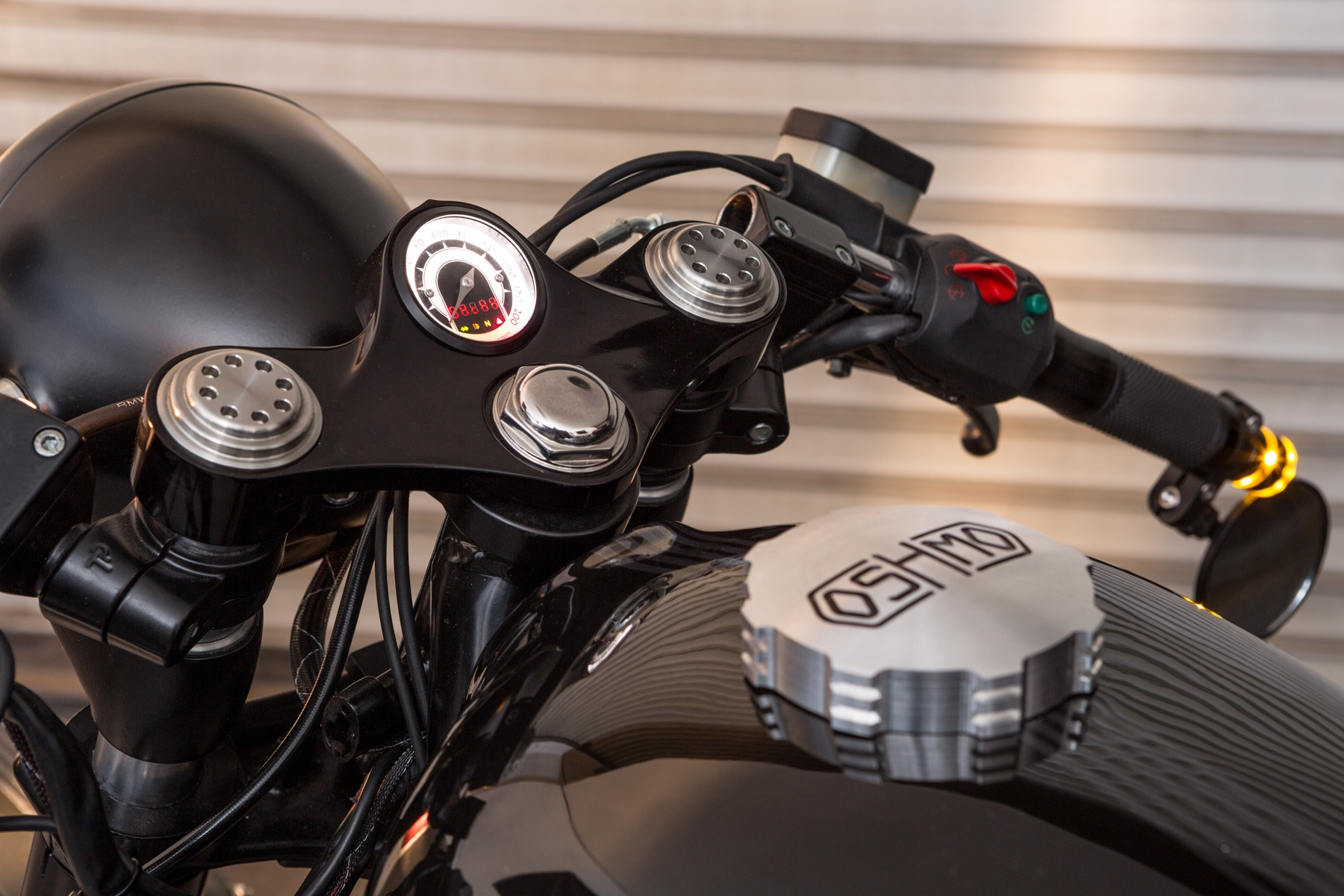 Oshmo for Motogadget /5 /6 /7 BMW Billet Triple Clamp