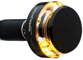 Image of the Motogadget M-Blaze Disc in Anodized Black